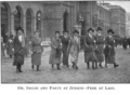 Scottish Women's Hospital - Dr. Elsie Inglis and party at Zurich (1916).png