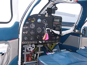 Republic RC-3 Seabee - Republic RC-3 Seabee instrument panel and cockpit