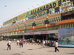 Sealdah railway station - Main Entrance of the Station