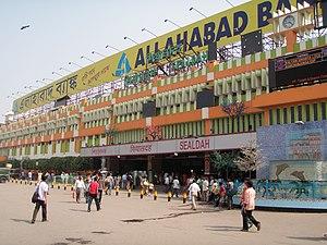 Sealdah railway station - Main Entrance of the Station