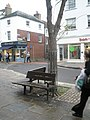 Seat in South Street - geograph.org.uk - 1557903.jpg
