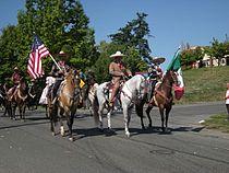 Seattle - Fiestas Patrias Parade 2008 - horses 04