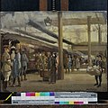 Second Study for the Staff Train at Charing Cross Station (no 1881) Art.IWMART1884.jpg