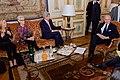 Secretary Kerry, Ambassador Hartley, Under Secretary Sherman Meet With French Foreign Minister Fabius in Paris (16555999519).jpg
