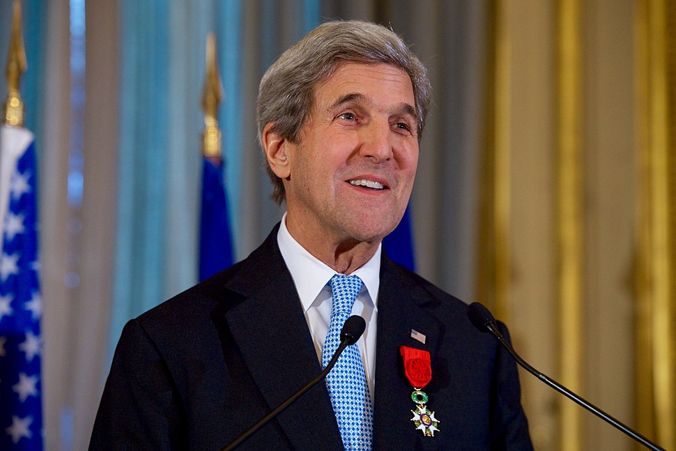 Secretary Kerry Delivers his Thanks After French Foreign Minister Jean-Marc Ayrault Awarded him the Grand Office of the L%C3%A9gion d%27honneur (31407214912).jpg