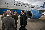 Secretary Pompeo Arrives at MacDill Air Force Base (48085059701).jpg
