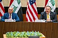 Secretary Pompeo and Iraqi Foreign Minister Hussein Deliver Opening Remarks at the U.S.-Iraq Strategic Dialogue (50244720576).jpg