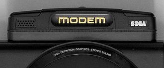 Sega Meganet - Sega Mega Modem peripheral, which allowed access to the Meganet service