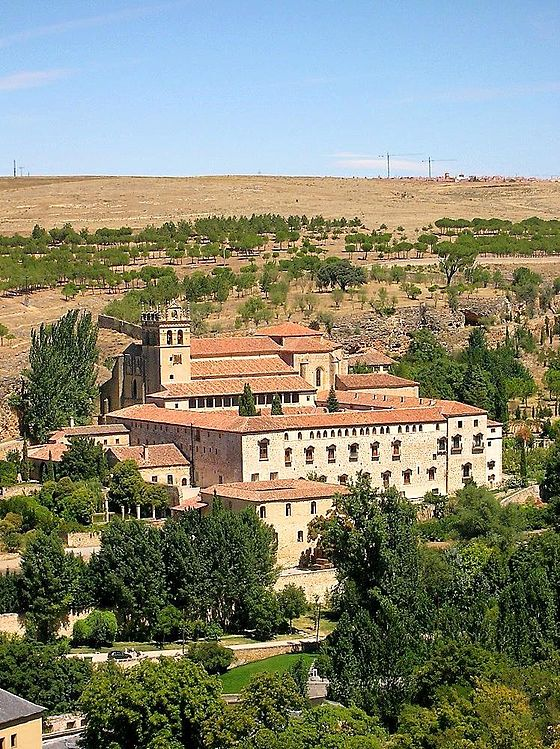 The Monastery of Saint Mary of Parral, the current headquarters of the Order of Saint Jerome. Segovia - Real Monasterio de Santa Maria del Parral 01.jpg