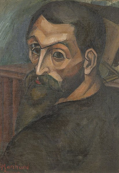 Fichier:Self portrait of Jean Marchand (1883-1940).jpg
