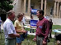 Sen. Sam Brownback visits Winterset (566488315).jpg
