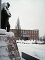 Sergach. Near Monument to perished in WWII The Soviet Soldiers.jpg