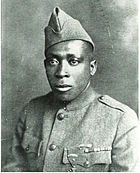 Sergeant Henry L Johnson American Soldier World War I