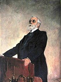Serov. Portrait of Muromtsev. 1910.jpg