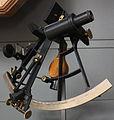 Sextant with gyroscopic horizon - XIX century.JPG