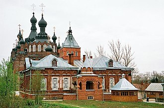 Ambrose of Optina - Shamordino Convent was founded by St. Ambrose
