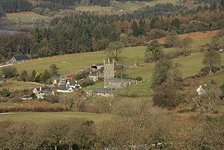 Sheepstor Human settlement in England