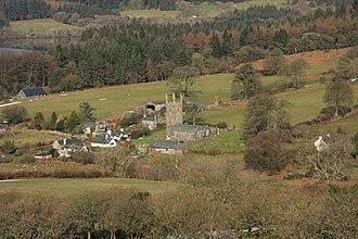Sheepstor - Image: Sheepstor village