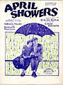 Sheet music cover - APRIL SHOWERS (1923).jpg