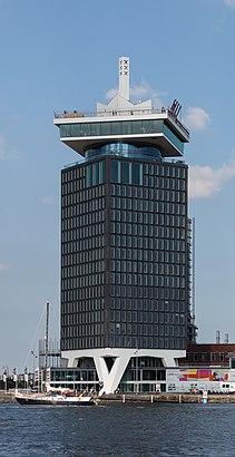 Hoe gaan naar A'DAM Toren met het openbaar vervoer - Over de plek