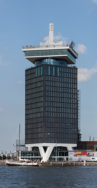 Amsterdam-Noord - The A'DAM Toren was achieved in 1971 and has since been one of Amsterdam-Noord's main landmarks.