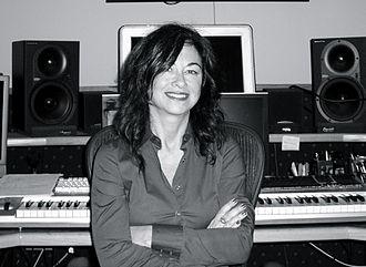 Christina Aguilera (album) - Image: Shelly P in studio