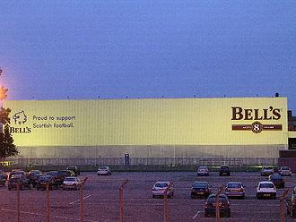 Bell's whisky - Shieldhall bottling plant