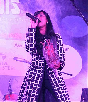 Shilpa Rao - Rao at Wheels concert, 2014