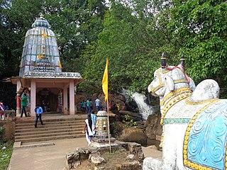 Chatikona village in Odisha, India