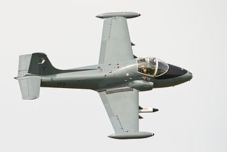 BAC Strikemaster - BAC 167 Strikemaster Mk 82A in Sultan of Oman's Air Force colour scheme at the 2013 Shoreham Airshow