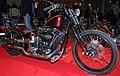 Shovelhead bobber at 2012 Helsinki Motorcycle Show (6828169911).jpg