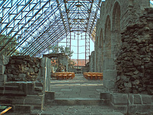 Hedmark Museum - Right side of the Cathedral Ruins in Hamar
