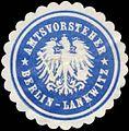 Siegelmarke Amtsvorsteher Berlin-Lankwitz W0391662.jpg