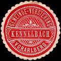 Siegelmarke Gemeinde-Vorstehung Kennelbach - Vorarlberg W0261005.jpg