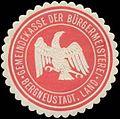 Siegelmarke Gemeindekasse der Bürgermeisterei Bergneustadt W0327817.jpg