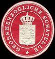 Siegelmarke Grossherzogliche Schatulle W0226456.jpg