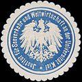 Siegelmarke Institut für Seeverkehr und Weltwirtschaft an der Universität Kiel W0382449.jpg