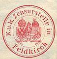 Siegelmarke K. und K. Zensurstelle in Feldkirch W0237555.jpg