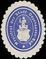 Siegelmarke Magistrat der Stadt Oeynhausen-Bad W0380784.jpg