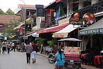 Siem Reap - Pub Street in Siem Reap