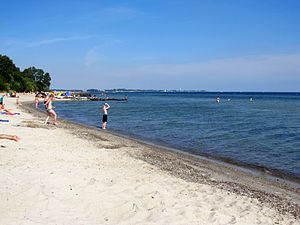 Der Strand von Sierksdorf