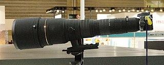 Sigma 300–800mm f/5.6 EX DG HSM lens