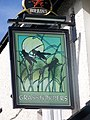 Sign for Grasshoppers, Abergavenny - geograph.org.uk - 551995.jpg