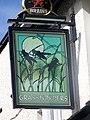 Sign for Grasshoppers, Abergavenny - geograph.org.uk - 551995.jpg