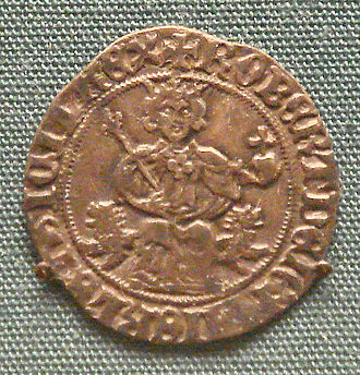 Robert, King of Naples - Silver gigliato of Robert I of Anjou King of Naples, 1309-1343.