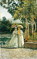 Silvestro Lega - A Walk in the Garden - WGA12634.jpg