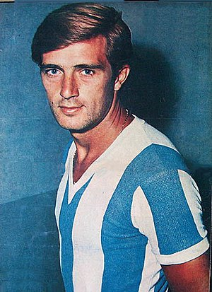 Silvio Marzolini - Marzolini playing for the Argentina national team, c. 1966