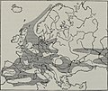 Sketch-map of Europe in the Middle Jurassic period – Geology (1907) (14773981324).jpg