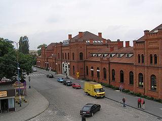 railway station in Skierniewice, Poland