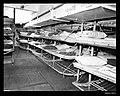 Sleeping accommodation on an unknown US Navy ship under Interational Refugee Organization charter (8403895754).jpg